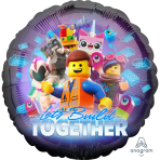 Standard Lego Movie 2 Foil Balloon S60 Packaged