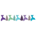 Pennant Banner Mermaid Wishes Paper 304cm
