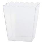 Bowl Plastic Rectangular Medium 14.2 x 11.1 x 15.2 cm