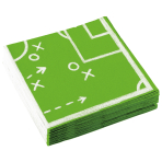 20 Napkins Kicker Party 33 x 33 cm