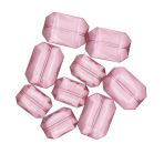 Acrylic Gems Big Diamonds Pink28 g