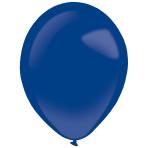 "50 Latex Balloons Decorator Fashion Ocean Blue 35 cm / 14"""