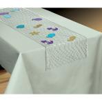 Table Decoration Fishnet Mermaid Wishes Plastic 96 x 192 cm