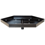 Balloon Weight Tray for Spinner Displays Metal Black