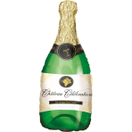 SuperShape Bubbly Wine Bottle Foil Balloon P30 packed