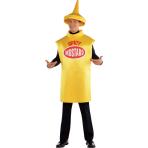 Adult Costume Mustard Bottle Size M/L