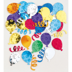 Confetti Party Balloons Multicolour Foil 14 g