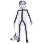 Adult Costume Stickman Size M/