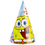6 Party Hats SpongeBob