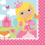 16 Napkins Woodland Princess 33 x 33 cm