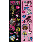 8 Sticker Strips Monster High 2