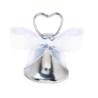 Placecard Holder Bell Metal 5.5 cm