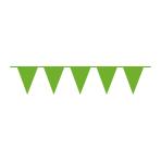 Pennant Banner Kiwi Green Plastic 1000 x 32 cm
