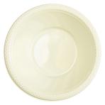 20 Bowls Vanilla Creme Plastic 355 ml
