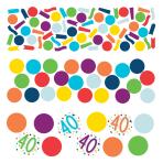 Confetti 40 Confetti Birthday Paper 34 g