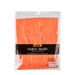 Table Skirt Orange Peel Plastic 426 x 73 cm