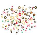 Confetti Smiley Emoticons Foil / Paper 14 g