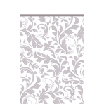 Table Cover Silver Anniversary137 x 259 cm
