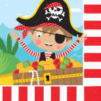 16 Napkins Little Pirate 33 x 33 cm