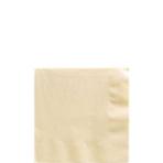 50 Napkins Vanilla Creme 25 x 25cm