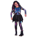 Child Costume Skeleton Girl  Recyc  2-3 Years