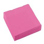 20 Napkins Bright Pink 25 x 25 cm