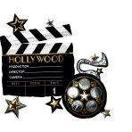 "SuperShape ""Hollywood"" Foil Balloon  , P40, packed, 76 x 73cm"