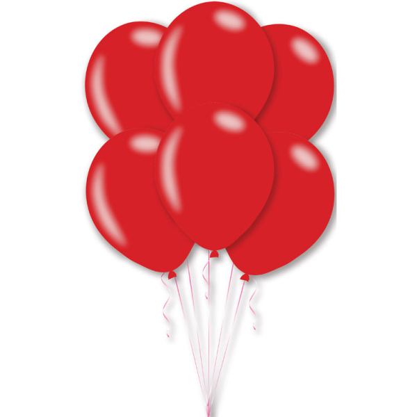 11c20dffbebd2 25 Latex Balloons Metallic Red27.5 cm 11     Amscan Europe
