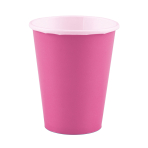 20 Cups Paper Bright Pink 266ml