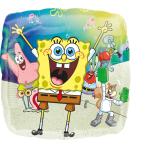"Standard ""SpongeBob"" Foil Balloon S60 Packaged 43 cm"