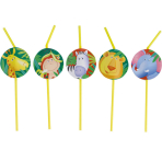 8 Drinking Straws Safari