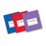 8 Loot Bags Primary Colours Assorted 22.5 x 20 cm