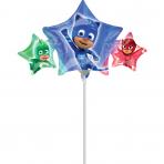 """Mini Shape """"PJ Masks"""" Foil Balloon, A30, airfilled, 43 x 22cm"""