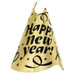 Cone Hat Happy New Year 23 cm