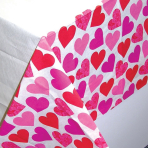 Tablecover Key to your Heart Paper 137 x 259 cm