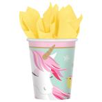 8 Cups Magical Unicorn Paper 266 ml