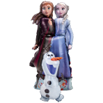 Airwalker Frozen 2 Else Anna Olaf Foil Balloon P93 Packaged