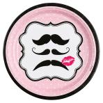 8 Plates Moustache 23 cm