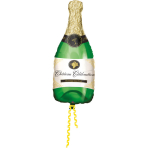Mini Shape Champagne Bottle Foil Balloon A30 Bulk