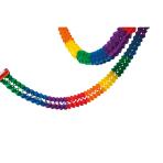 Garland Rainbow Paper flame retardant 16 x 1000 cm
