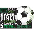 8 Postacard Invitations Goal Getter
