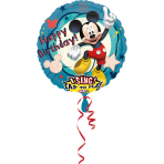 Sing-A-Tune Mickey Mouse Birthday Foil Balloon P75 Packaged 71 cm