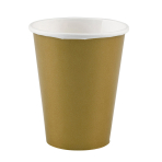 8 Cups Paper Gold 266 ml