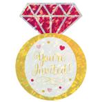 8 Invites Diamond Ring