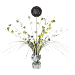 Spray Centrepiece Sparkling Celebration - Gold Happy Birthday Foil / Paper 45.7 cm