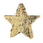 Pinata Star Gold Paper / Foil 46.9 x 45 x 8.2 cm