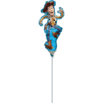 MiniShape Toy Story 4 Woody Foil Balloon A30 Airfilled