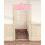 Door Curtain Oh Baby Girl Paper 190.5 x 96.5 cm
