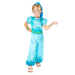 Child Costume Shine Age 6-8 Years