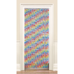 Door Curtain Flowers Fabric 182.2 cm